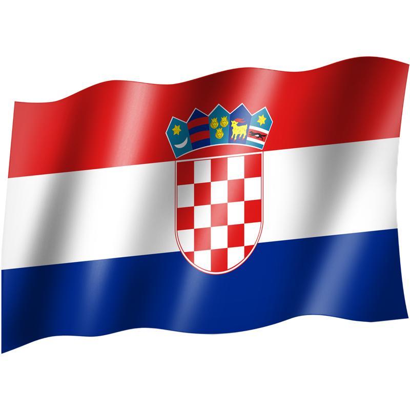 pin flagge kroatien fahne on pinterest. Black Bedroom Furniture Sets. Home Design Ideas