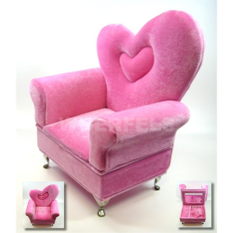 schmuckkasten schmuckbox sessel ebay. Black Bedroom Furniture Sets. Home Design Ideas