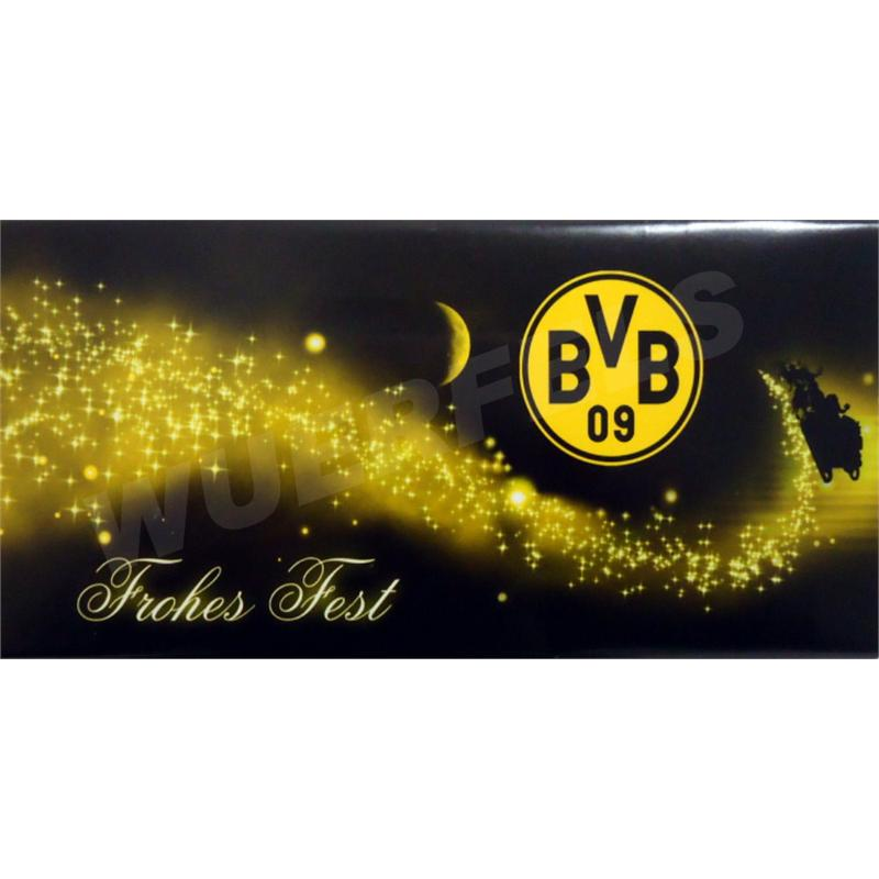xl weihnachts schokolade borussia dortmund bvb. Black Bedroom Furniture Sets. Home Design Ideas